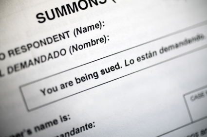 What is the proper way to respond to a court summons?