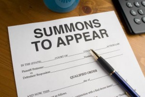 Respond to Summons Letter